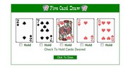 Thumbnail PHP Five card draw game - Poker script