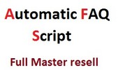 Thumbnail PHP - Automatic FAQ generator - Master resell rights