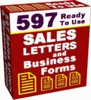 Over 500 Salesletters free to use - Master resell rights