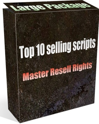 Product picture 10 Top selling scripts package - Master resell rights