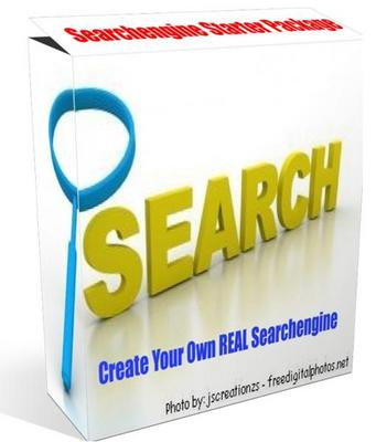 Product picture Ultimate Searchengine kit - start your own REAL Searchengine
