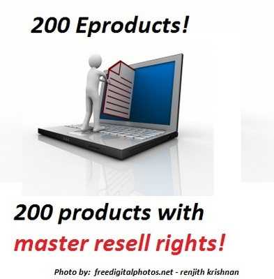 Product picture 200 Master Resell products - mega package!