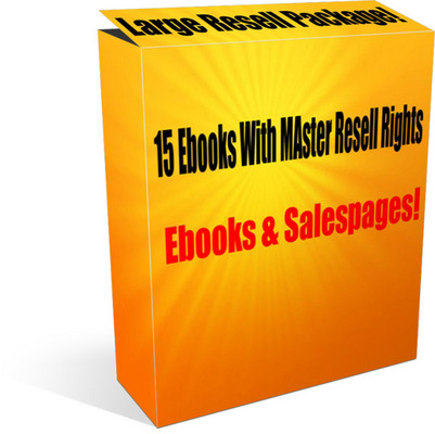 Product picture Large ebooks resell package - 15 ebooks package!
