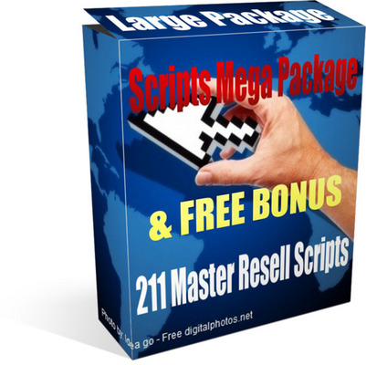 Product picture Scripts Mega Package - 211 Top Selling Scripts