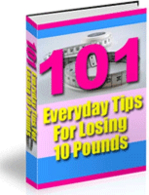 Product picture The ultimate tips for losing weight - Master resell package