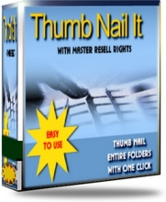 Product picture Professional thumbnail Maker - Master resell rights