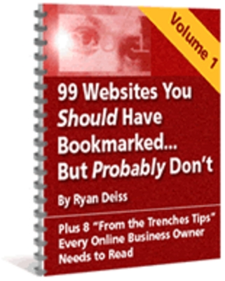 Product picture 100 websites you should bookmark! - Master resell rights
