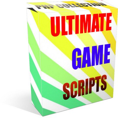 Product picture PHP - Ultimate Online GAME Scripts Collection