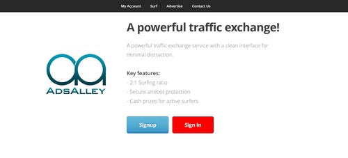 Product picture PHP Traffic Exchange 2:1 - Modern - Powerfull