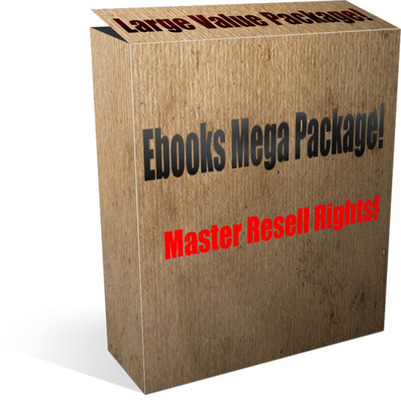 Product picture Master resell ebooks - large package